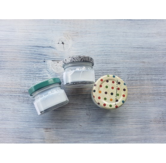 Synteko PRO 45, waterproof varnish, semi-matt, prepackaged, compatible with polymer clay, 20 ml