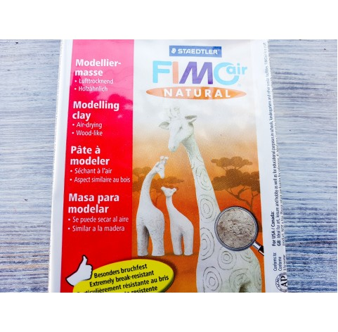 Fimo Air Natural modelling clay, white (edelweiss), 350 g