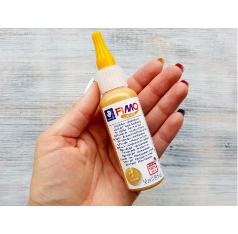 FIMO Deco gel, liquid polymer clay, Gold, 50 ml