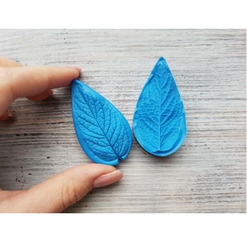 Silicone mold, mint leaf, medium, (mold size) ~ 3.1*6 cm