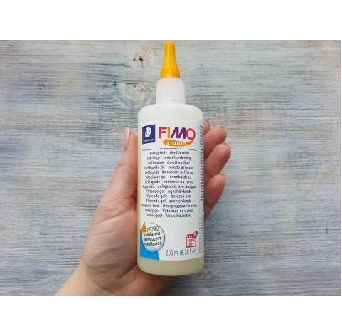 FIMO Deco gel, liquid polymer clay, translucent, 200 ml