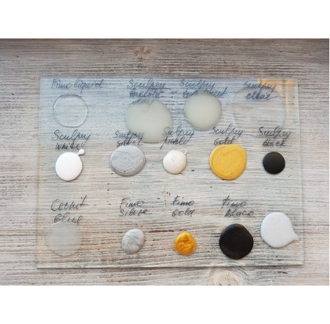 Sculpey liquid polymer clay, White, 29 ml