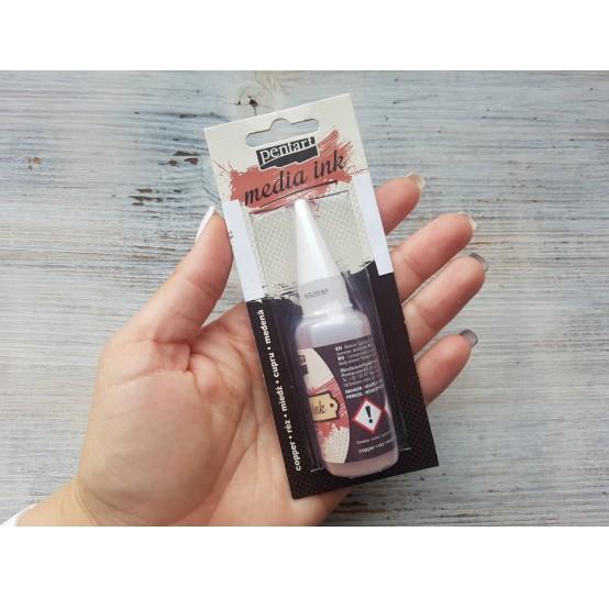 PENTART alcohol-based ink, copper, 20 ml, No. 21052