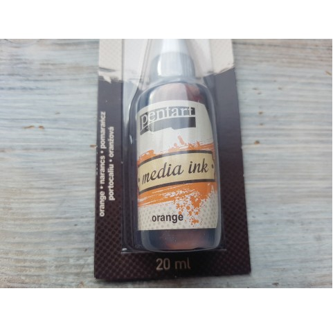 PENTART alcohol-based ink, orange, 20 ml, No. 21013