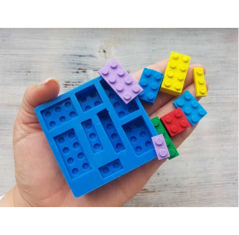 Silicone mold, constructor, 8 pcs., ~ 1.5-3.2 cm, ~ 0.8-1.6 cm