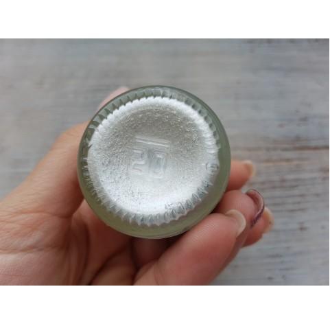 PENTART solvent based paint, white (pearl), 30 ml
