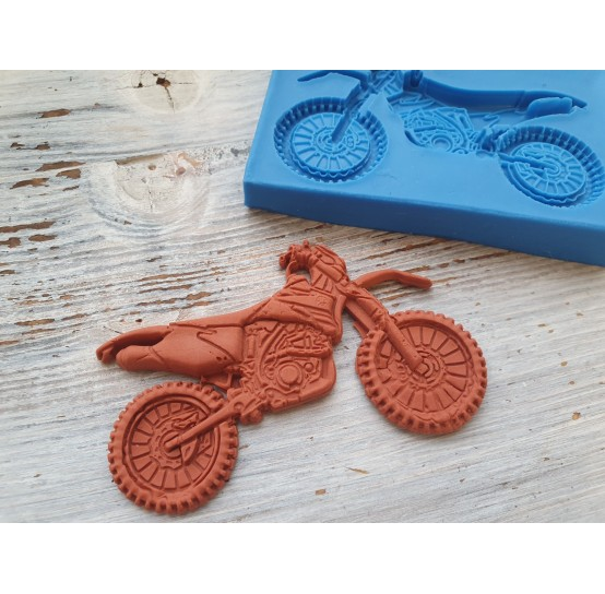 Silicone mold, motorcycle, ~ 5.7*9 cm