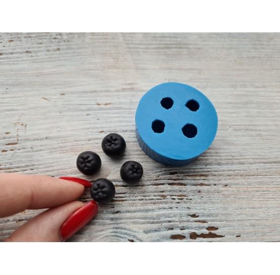 Silicone mold, aronia berries, 4 pcs., ~ Ø 1 cm