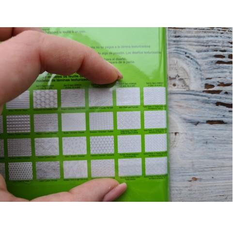 Makin's texture sheets, Set F, 11.5*17.7 cm