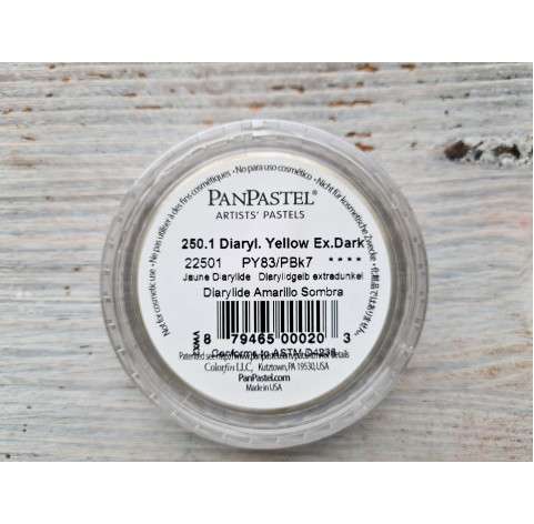 PanPastel soft pastel, Nr. 250.1, Diarylide Yellow Extra Dark