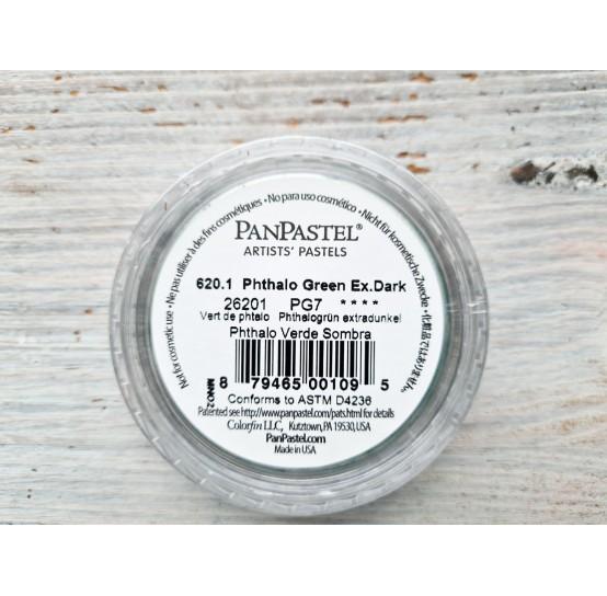 PanPastel soft pastel, Nr. 620.1, Phthalo Green Extra Dark