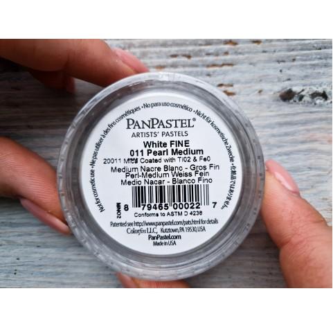 PanPastel means, Nr. 011, Pearl Medium - White Fine