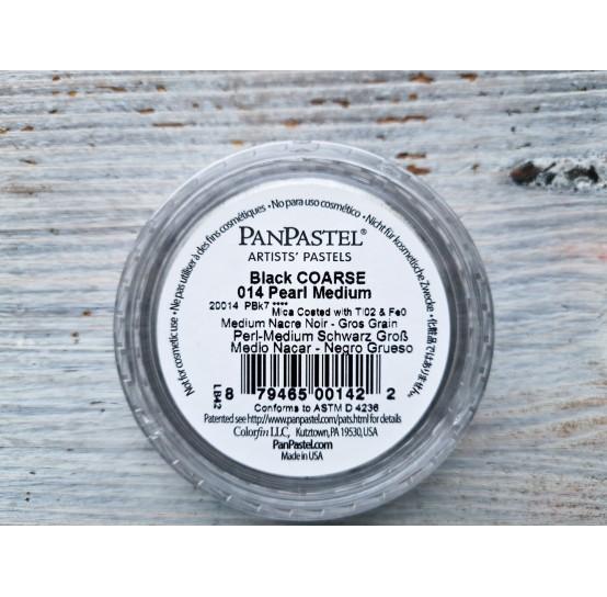 PanPastel means, Nr. 014, Pearl Medium - Black Coarse