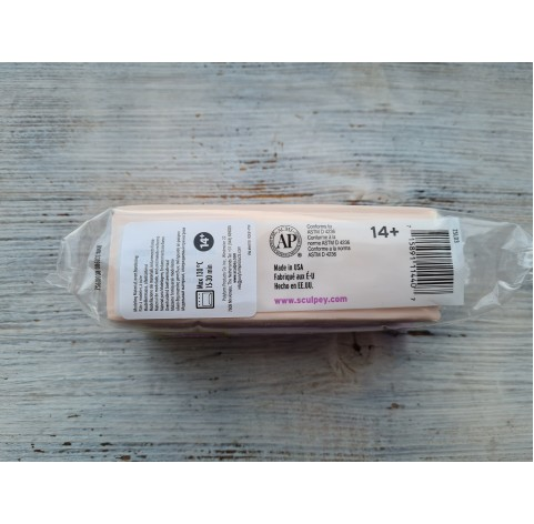 "Sculpey ""Living Doll"" oven-bake polymer clay for making dolls, light, 454 gr (1lb)"