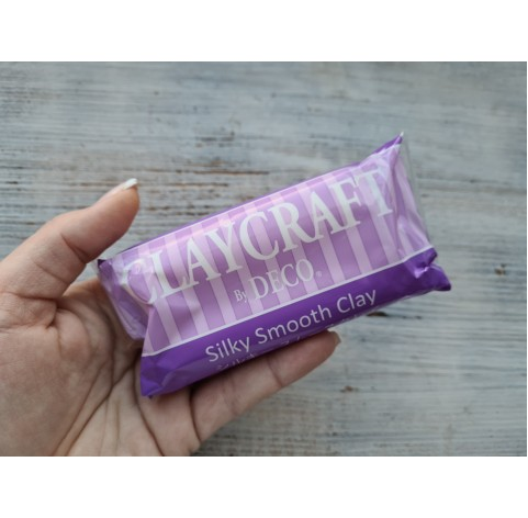 Self-hardening polymer clay Silky Smooth Clay, translucent, 100 g