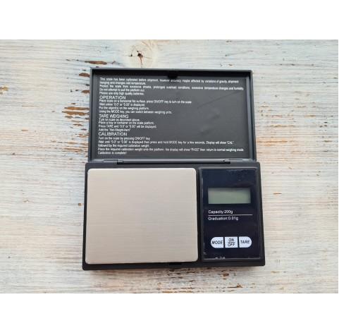 Digital scale 200 g / 0.01 g