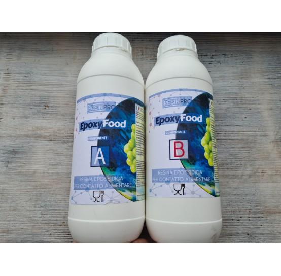 Epoxy resin, Epoxy Food safe, transparent, 1.55 kg