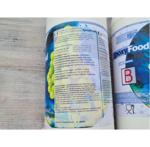 "Epoxy resin ""Epoxy Food safe"", transparent, 1.55 kg"