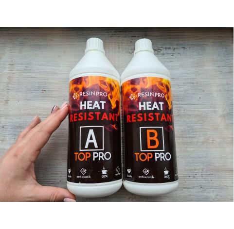 "Epoxy resin ""Top Pro Heat"", transparent, 1.8 kg"