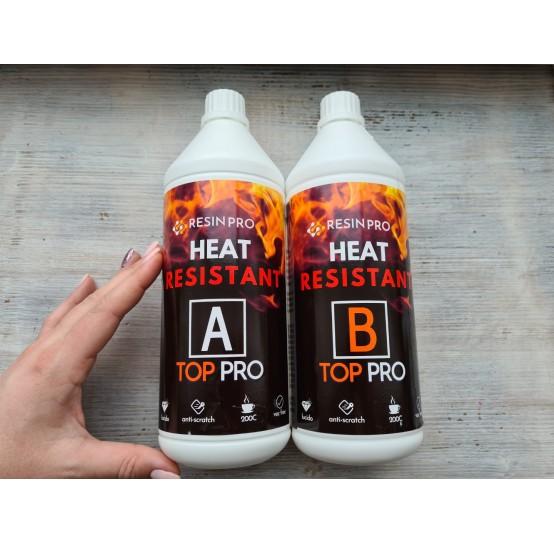 Epoxy resin, Top Pro Heat, transparent, 1.8 kg