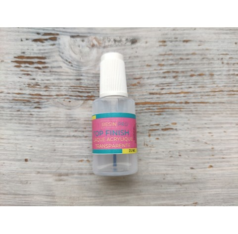 Finish varnish for resin and polymer clay, 21 ml