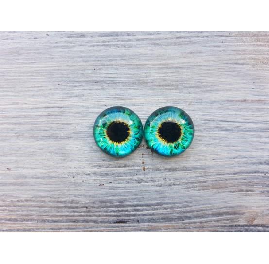 Glass eyes  ZA4, ~ Ø 1.4 cm