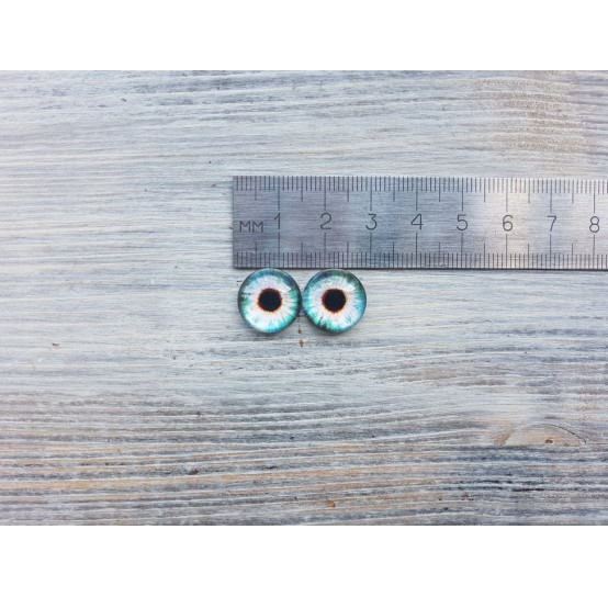 Glass eyes Z3, ~ Ø 1.4 cm