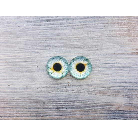Glass eyes Blue 1, ~ Ø 2 cm
