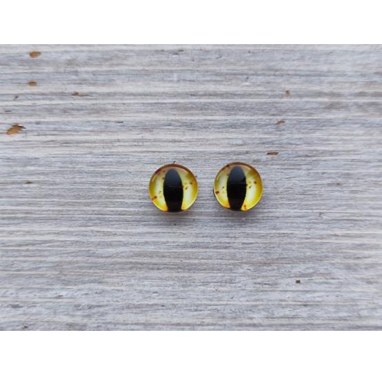 Glass eyes DZ1, ~ Ø 1,2 cm