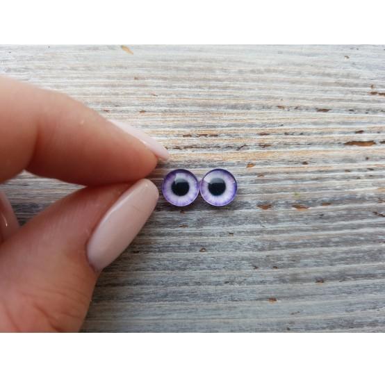 Glass eyes V1, ~ Ø 0.8 cm