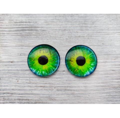 Glass eyes Green 4, ~ Ø 3 cm