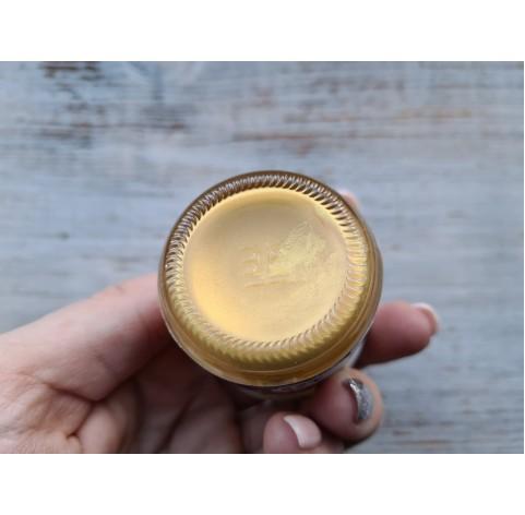 PENTART metallic solvent based paint, gold, 30 ml