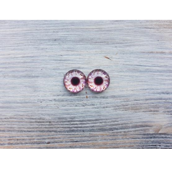 Glass eyes V1, ~ Ø 1.4 cm